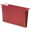 CrystalFile Foolscap Suspension Files Red 50mm Rexel 71752 [Pack 50] | Made using 100% recycled premium manila | Fusion Office UK