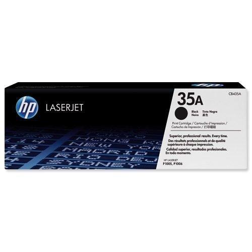 Hewlett Packard [HP] Laser Toner Cartridge Black 35A CB435A   Fusion Office