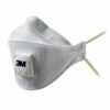 3M 9312+ Aura FFP1V Mask FFP1 [Pack 10] | Yellow Straps FFP1 | Three panel design are easier to breathe through | Fusion Office