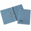 Rexel Jiffex Transfer Files Foolscap Blue 43213EAST [Pack 50] | Ideal for storing quotes, projects and personal documents | Fusion Office UK