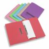 Rexel Jiffex Pocket Files A4 Buff 43312EAST [Pack 25] | A popular pocket transfer spring file | Fusion Office UK
