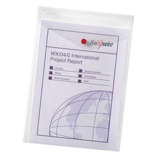 Plastic Wallets A6 - Fusion Office