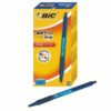 BIC Soft Feel Blue Ball Pen Retractable 837398 [Pack 12]   designed for the ultimate in writing comfort   Fusion Office UK