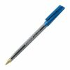 STAEDTLER 430 Blue Ball Pen Medium 430M-3 [Pack 10] | A high quality writing pen for relaxed and easy handwriting | Fusion Office UK