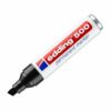 Edding 500 Permanent Markers Black Chisel Tip 4-500001 [Pack 10]   Compact and handy permanent marker   Fusion Office UK