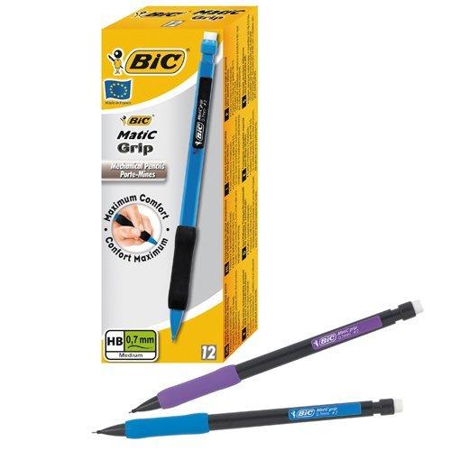 Pilot SuperGrip Mechanical Pencil with Cushion Grip 0.5mm Lead H185SL01 Pack 12