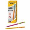 BIC Matic Strong Pencils 0.9mm 892271 [Pack 12] | Features an extra strong lead that is incredibly durable | Fusion Office UK