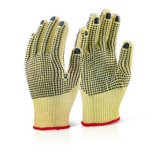 Polka Dot Grip Glove   Medium weight glove   Extra density yarn   High level cut protection   Comfortable - Fusion Office