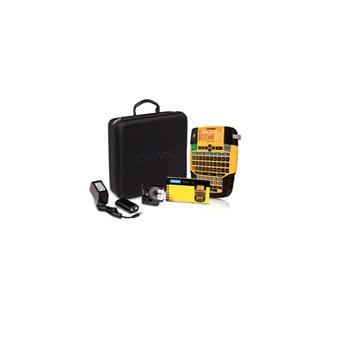 DYMO Rhino 4200 Labelmaker Kit 1852992 | Industrial label printer | 15mm per second | QWERTY keyboard | Fusion Office