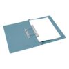 Transfer Spring Files Blue [Pack 50] | Made from 285gsm manilla | 100% recycled & 100% recyclable | Fusion Office