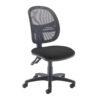 Jota Mesh medium back operators chair Black DAMS VMH10-000-BLK | Sleek Design | 2 Lever | Fusion Office
