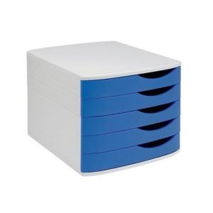 Fusion Elite Desktop Drawer Set 5 Drawers A4 and Foolscap