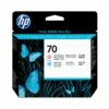 HP 70 Light Magenta & Light Cyan Printheads C9405A | Original Authentic HP - Hewlett Packard | Great Everyday Pricing | Fusion Office