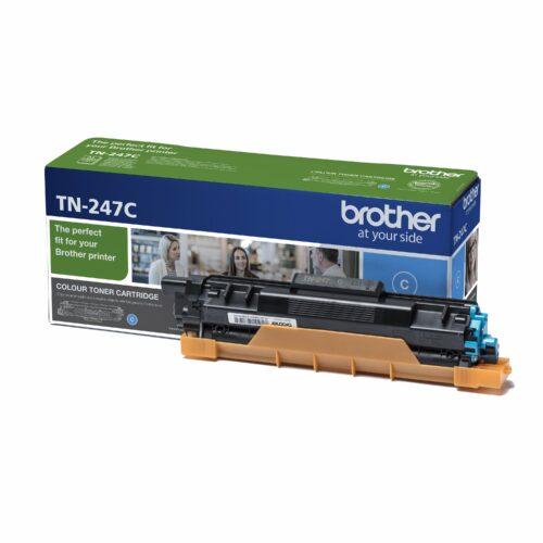 Brother Laser Toner Cartridge Cyan Ref TN-247C TN247C