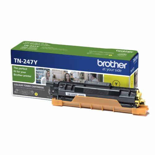 Brother Laser Toner Cartridge Yellow Ref TN-247Y TN247Y