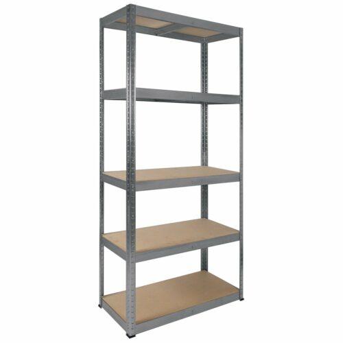5 Shelf Racking Kit 900(W)x1800(H)x400(D)mm