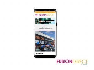 Fusion Direct Website