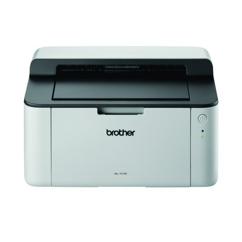 Brother HL-1110 Laser Printer   A4 Printing   Laser Technology   20 Pages a Minute   USB Interface   Fusion Office