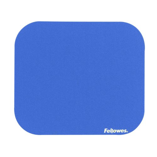 Fellowes Premium Mousepad Blue 58021   Non slip base made from natural rubber with long lasting polyester surface   Fusion Office