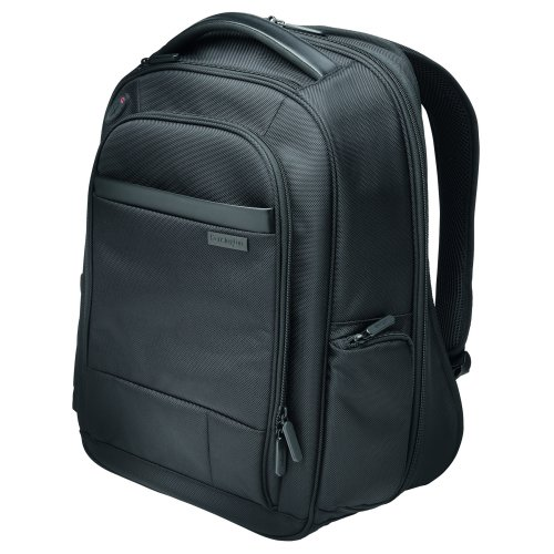 15.6 Inch Laptop Backpack Black Kensington Contour K60382EU   Comfortable, secure, durable & TSA checkpoint friendly   Fusion Office UK