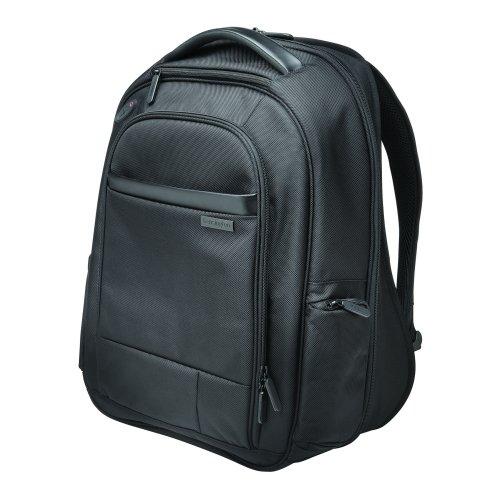 17 Inch Laptop Backpack Black Kensington Contour K60381EU | Comfortable, secure, durable & TSA checkpoint friendly | Fusion Office UK