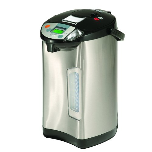 Addis Thermo Pot Stainless Steel 5 Litres 516522 | No need to re-boil thanks to the keep warm function | Stainless steel | Fusion Office UK