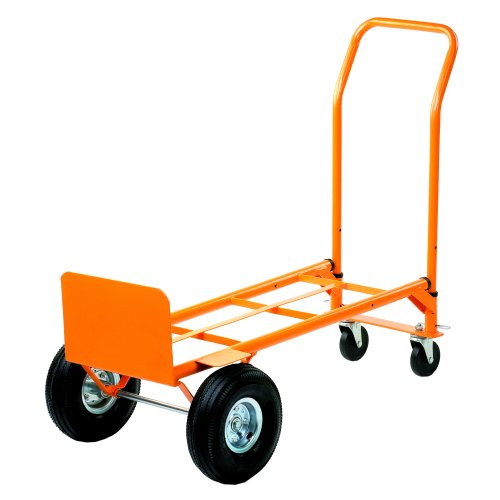 Two Way Sack Truck GI358Y | Converts from a sack truck to a platform truck in seconds | Maximum load capacity: 200kg | Fusion Office UK