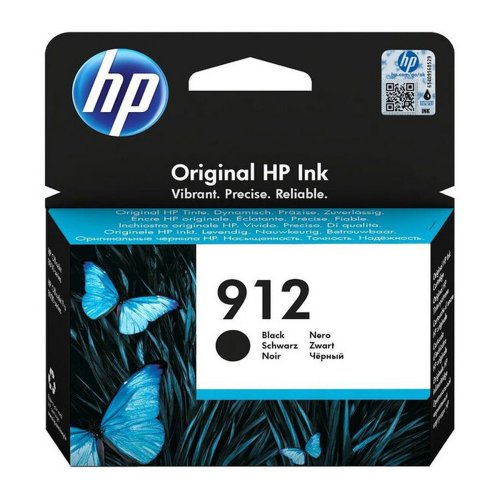 HP 912 Black Ink Cartridge 3YL80AE | Original Authentic HP - Hewlett Packard | Great Everyday Pricing | Fusion Office