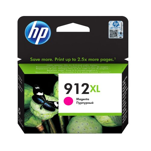 HP 912XL Magenta Ink Cartridge 3YL82AE | Original Authentic HP - Hewlett Packard | Great Everyday Pricing | Fusion Office