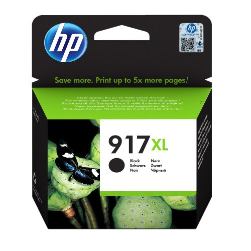 HP 917XL Black Ink Cartridge 3YL85AE | Original Authentic HP - Hewlett Packard | Great Everyday Pricing | Fusion Office