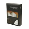 Conqueror Laid Brilliant White Paper A4 100gsm [500 Sheets] | Traditional ribbed texture | Watermarked | Fusion Office UK
