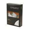 Conqueror Laid High White Paper A4 100gsm [500 Sheets]   Traditional ribbed texture   Watermarked   Fusion Office UK
