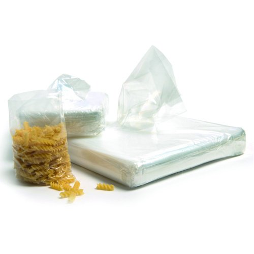 Polythene Bags 15x20 375x500mm Open Top Mediumweight [Pack 250] 11878   Fusion Office