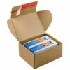ColomPac CP080.04 Mailing Boxes 192x155x43mm Brown [Pack 20] | Postal Boxes | Module Boxes | Reliable Self-Sealing | Fusion Office UK