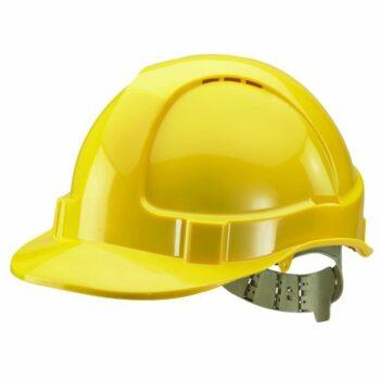 JSP HardCap AeroLite Protective Cap HDPE Shell Odour Control Yellow