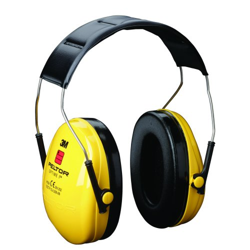 3M H510A-401-GU PELTOR Optime I Earmuffs 27 dB Yellow Headband | Reduces noise levels up to 27 dB | Low-profile design | Fusion Office UK