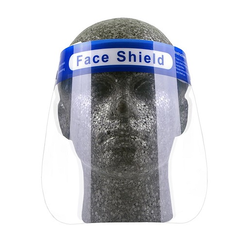 Full Face Shield Visors | One size fits all | Confirms to EN166 Optical class 1 | Resistance to fogging | Fusion Office