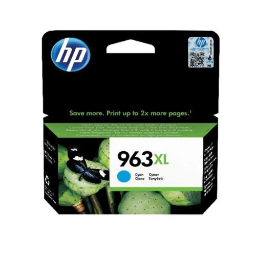 HP 963XL Cyan Ink Cartridge 3JA27AE   Original Authentic HP - Hewlett Packard   Great Everyday Pricing   Fusion Office