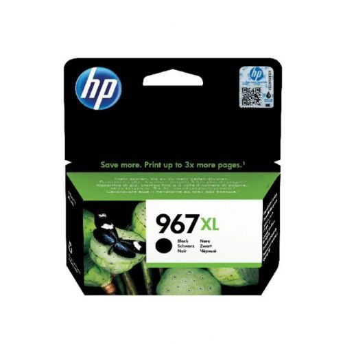 HP 967XL Black Ink Cartridge 3JA31AE | Original Authentic HP - Hewlett Packard | Great Everyday Pricing | Fusion Office