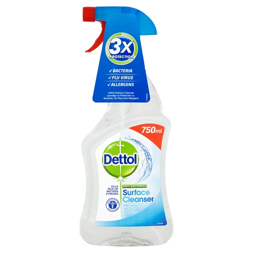 Dettol Surface Cleanser Spray Antibacterial 750ml - Fusion Office