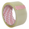Sellotape Cellux Clear Parcel Tapes 48mmx50m 0857 [Pack 6] | Economy tape for general office and warehouse use | Fusion Office UK