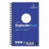 Challenge Duplicate Books Ruled Wirebound 210x130 100080469 [Pack 5]   Duplicate book is side wirebound, ruled & carbonless   Fusion Office UK