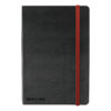 BlackNRed Business Journal A6 Soft Feel Cover 400033672   Soft feel cover casebound hardback notebook for durability   Fusion Office UK