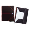 BlackNRed Polypropylene A4+ Meeting Book 100104323 [Pack 5] | Comes with a durable cover to protect your notes | Fusion Office UK
