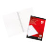Wirebound Notebooks A4 Ruled & Perforated 50 Sheets [10] | Pre-punched with 4 holes | Perforated pages | Fusion Office