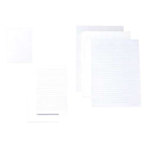 Cambridge Memo Pads A6 Plain 100080233 [Pack 10] | Good quality 70gsm white paper | Headbound pad | Fusion Office UK