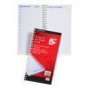 Things To Do Book 280x152mm | Also with appointments, notes & Things to do today section | Wirebound | Fusion Office