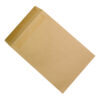 Pocket Envelopes 457x324mm Manilla Self Seal 115gsm [Pack 125]   Envelope flap on the shortest edge   100% Recycled   Fusion Office UK