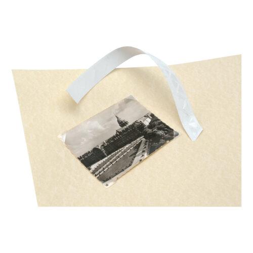 Photo Corners Self Adhesive Vinyl Clear [Pack 250]   Acid free   Transparent   Self adhesive photo corners   Fusion Office UK