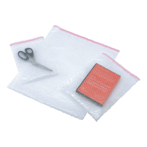 Bubble Pouch Bags 280x360mm [Pack 150] | Peel & Seal | Clear Polythene | 35 Microns | Protective outer bubble pouch | Fusion Office